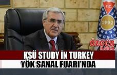 KSÜ Study in Turkey YÖK Sanal Fuarı'nda