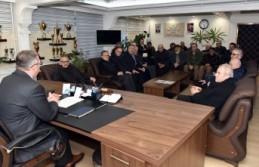 Dağıstanlılardan Başkan Aydın'a Destek Ziyareti
