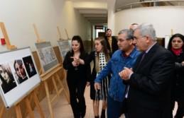 """KSÜ'de """"Yeniden Doğuş Resim ve Fotoğraf Sergisi""""..."""