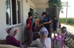 Polisi Görünce Çocukları Boğuldu Sanıp Feryat...