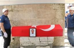 Trafik Kazasında Hayatını Kaybeden Polis Toprağa...