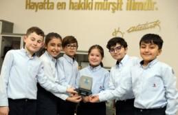 VEX IQ Robot Yarışmasında SANKO İlkokulu Öğrencileri...