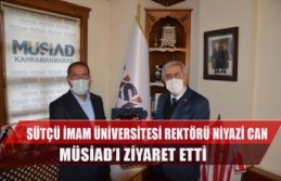 Sütçü İmam Üniversitesi Rektörü Niyazi Can...