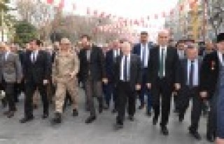 12 Şubat Kurtuluş Bayramı Kortej Yürüyüşü