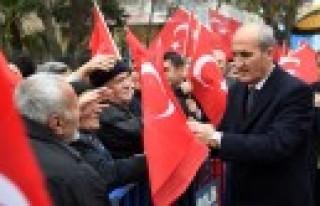 12 Şubat'ta 12 Bin Türk Bayrağı