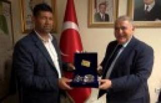 15 Temmuz Şehidimiz'in Ağabeyinden Başkanı Mahçiçek'e...