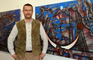 Dr. Özderin, SANKO Sanat Galerisinde Yarın Sergi...