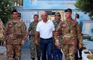 İtalyan Tümgeneral Boi Kahramanmaraş'ta