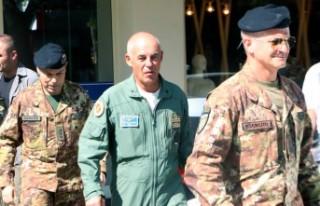 İtalyan Tümgeneral Boi Kahramanmaraş'tan Ayrıldı