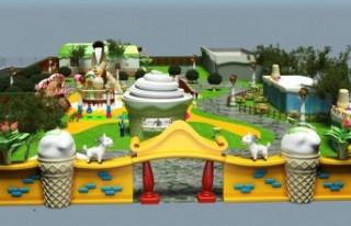 Tematik Dondurma Parkı Kuruluyor