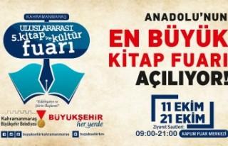 5. Kitap ve Kültür Fuarı 11 Ekim'de Kapılarını...