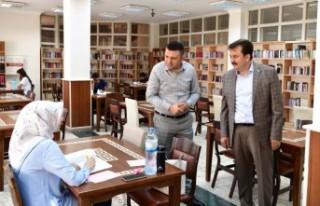 Başkan Erkoç: Dünyanın En Büyük Kütüphanelerinden...