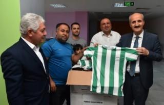 Dulkadiroğlu'ndan Amatör Spor Kulüplerine Malzeme...