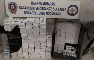 Gaziantep-Kahramanmaraş Karayolunda Kaçak Sigara...