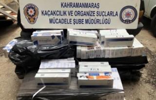 Kahramanmaraş-Adana Karayolunda Kaçak Sigara Operasyonu