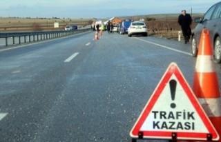 Kahramanmaraş-Gaziantep Yolunda Trafik Kazası: 1...