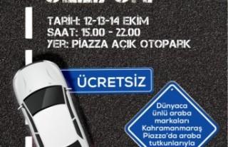 Kahramanmaraş Piazza Otomobil Tutkunlarını Buluşturacak