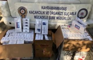 Narlı Kavşağında Kaçak Sigara Operasyonu