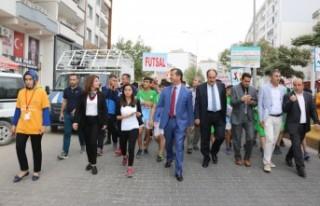 Pazarcık'ta Amatör Spor Haftası Etkinlikleri...