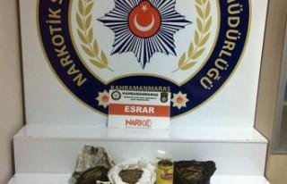 Uyuşturucu Operasyonunda 1 Kişi Gözaltına Alındı