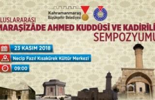 Büyükşehir'den Maraşizade Ahmet Kuddusi ve Kadirilik...