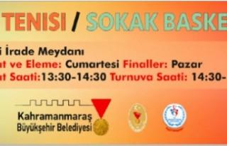 Büyükşehir'den Sokak Turnuvası