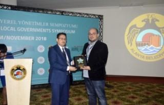 Büyükşehir'e Uluslararası Bilim Ödülü