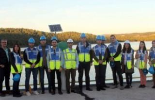 EPDK Uzmanları Sanibey Barajı Ve HES'te