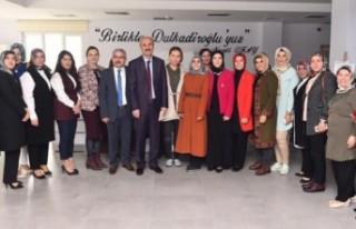 Kahramanmaraş'lı AK Kadınlardan Anlamlı Buluşma