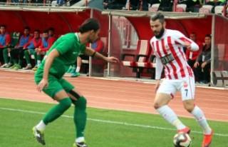 Kahramanmaraşspor: 1 - Sivas Belediyespor: 0