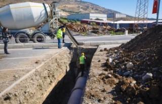 KASKİ'den Yeni Kanalizasyon Ve Yağmur Suyu Hattı
