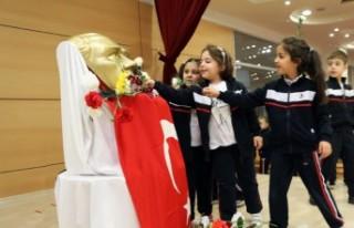 SANKO Okulları Ata'sını Saygı Minnet Ve Özlemle...