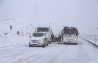 Ulaşımda Kar Engeli