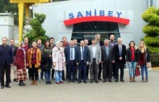 Aladağ'da Görevli Öğretmenler Sanibey Barajı...
