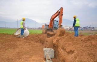 Elbistan'ın Kanalizasyon Eksiklikleri Gideriliyor