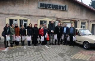 Büyükşehir'den Huzurevi Ziyareti
