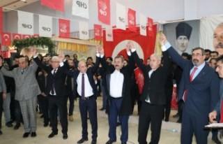 CHP Pazarcık Adayını Tanıttı