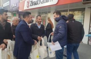 İYİ Parti Kahramanmaraş'ta 5 Bin Adet Bez Çanta...