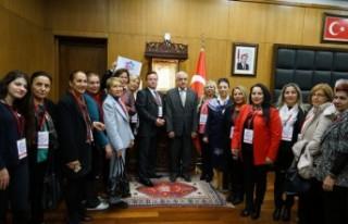 İzmir Kültür Köprüsü Platformu Heyetinden Ziyaret