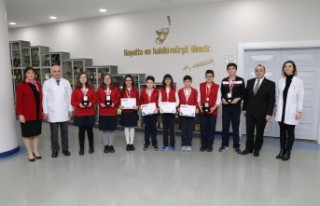 SANKO Okulları Robot Takımı 4 Türkiye Derecesi...