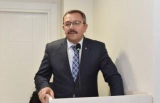 Başkan Aydın Kayseri'de Yaşayan Hemşehrileri...
