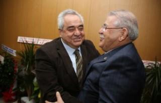Başkan Mahçiçek'ten Rektör Özgür'le Ziyaret