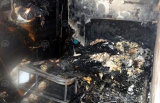 Doğukent'te Çıkan Yangında 3 Kişi Ağır Yaralandı