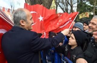Dulkadiroğlu'ndan 12 Şubat Anısına 12 Bin Türk...