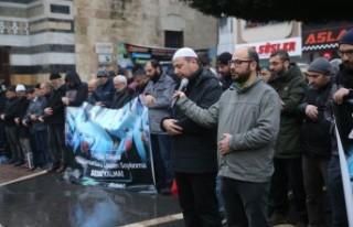 Kahramanmaraş'ta Doğu Türkistan İçin Dua Edildi