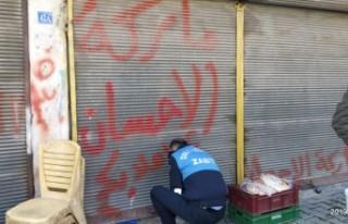 Suriyelilere Ait Ruhsatsız İş Yerleri Kapatıldı
