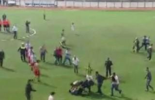 Türkoğlu'nda Amatör Maçta Kavga