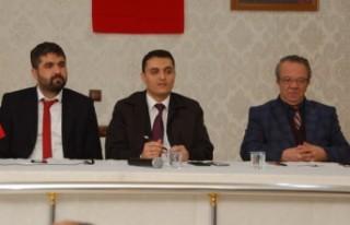 Afşin'de Muhtarlar Ve Kurum Amirleri Toplantısı