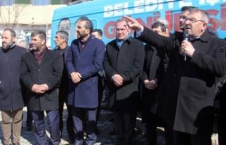 Başkan Aydın'dan, Bozhüyük Halkına Müjde!