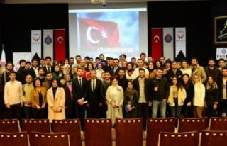 """KSÜ'de """"İletişimin İyi Hali"""" Konulu Konferans..."""
